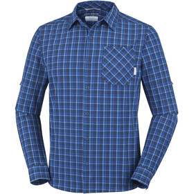Columbia Triple Canyon Long Sleeve Shirt Men Super Blue